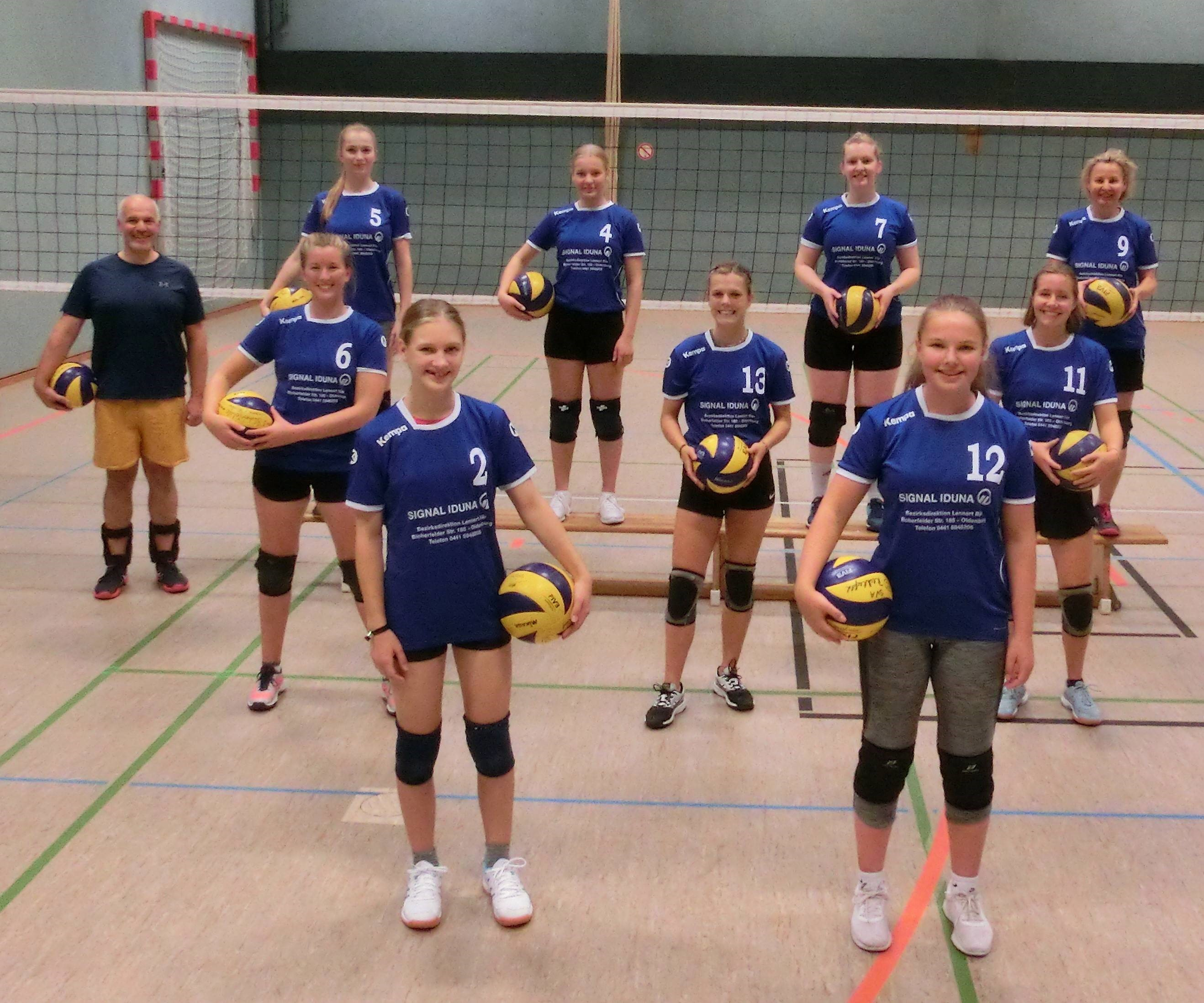 Volleyball 3. Damen